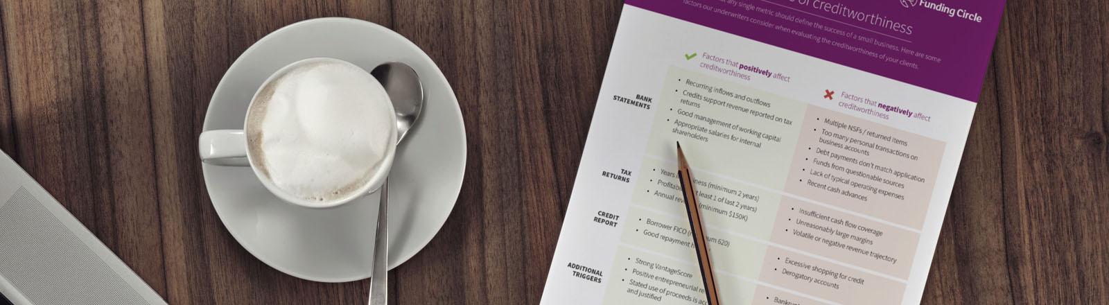 Characteristics of credit cheat sheet [PDF]