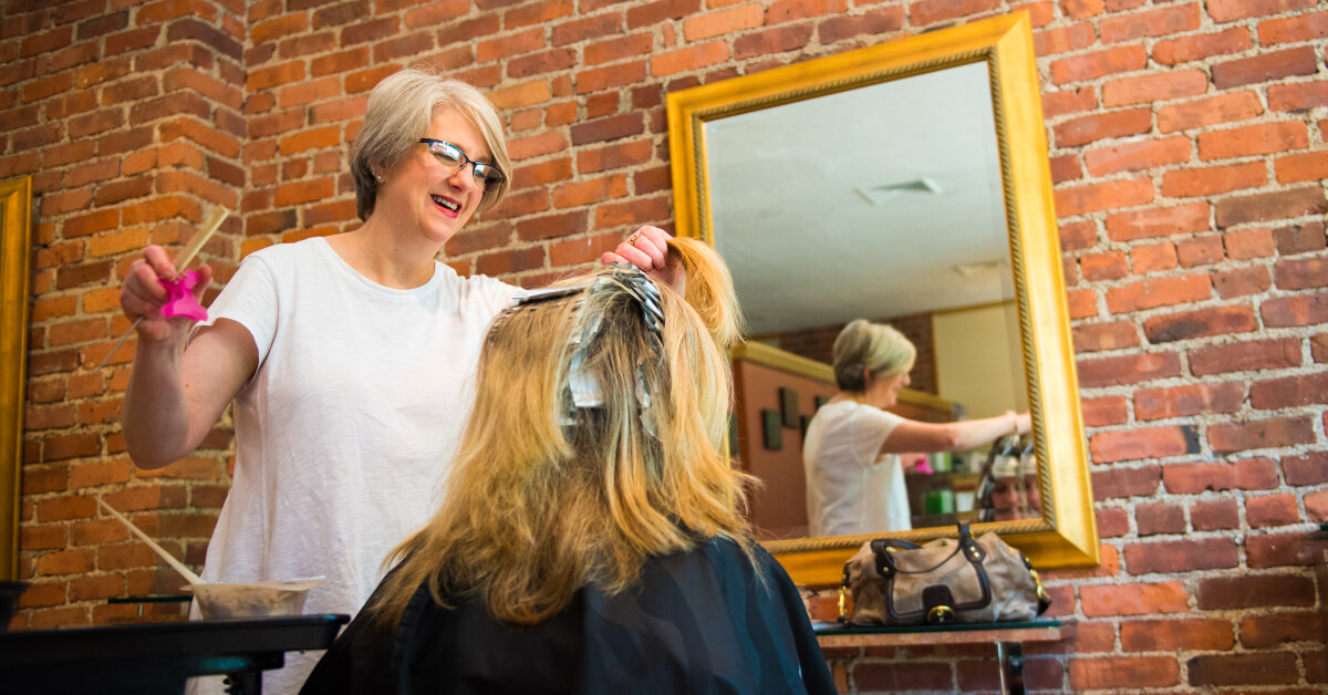 Beauty and brawn: How one salon beat the recession