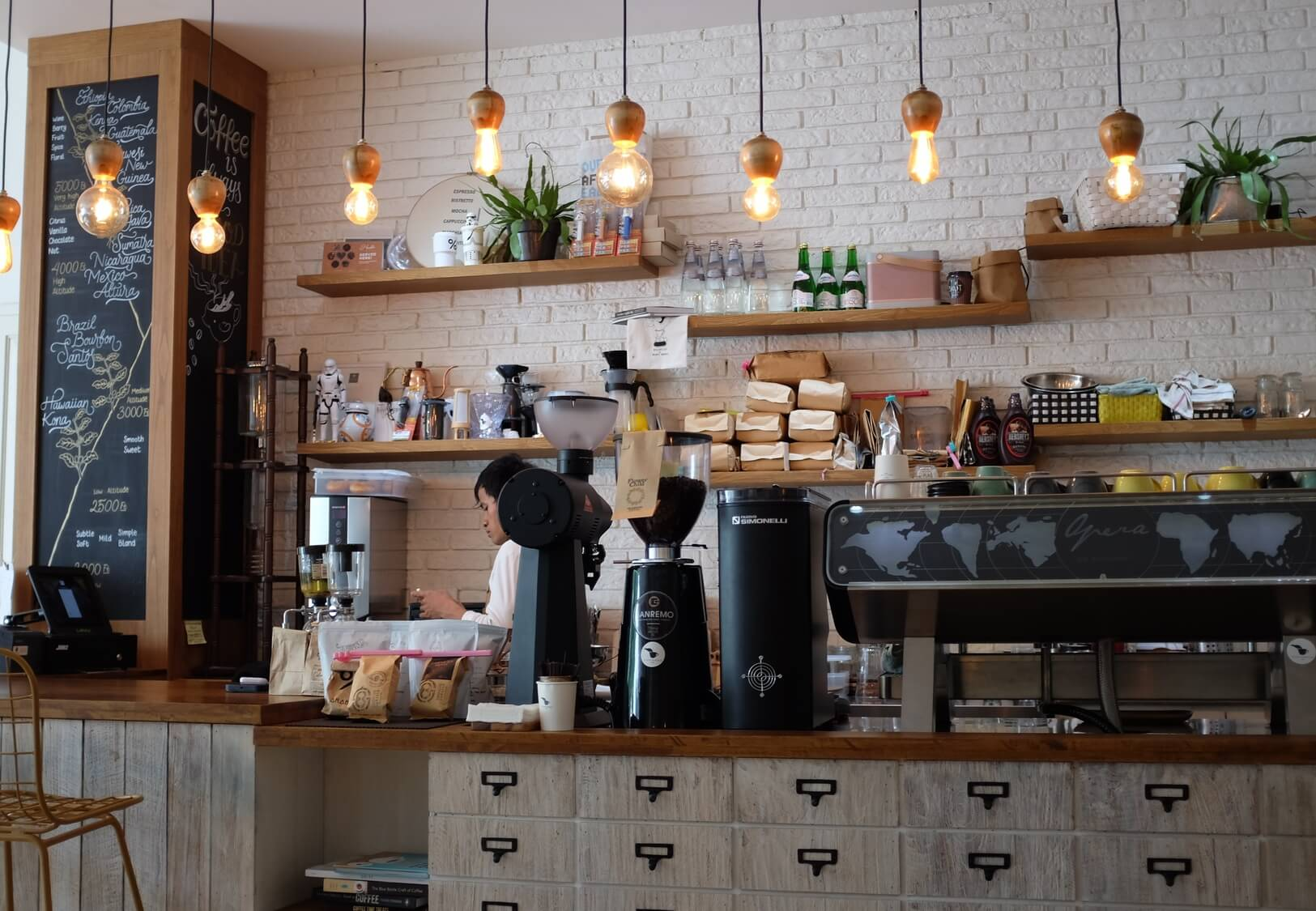 Term Loans for Coffee Shops